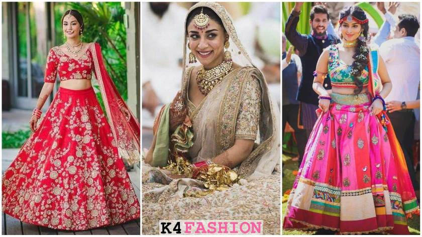 Indian Bridal Designer Lehenga for Wedding