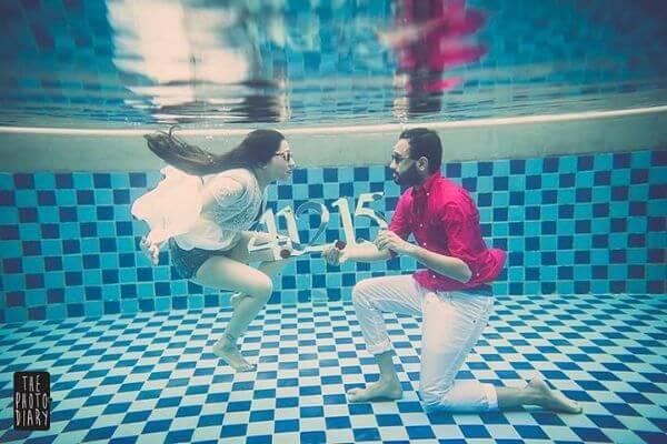 deep water photoshoot ideas
