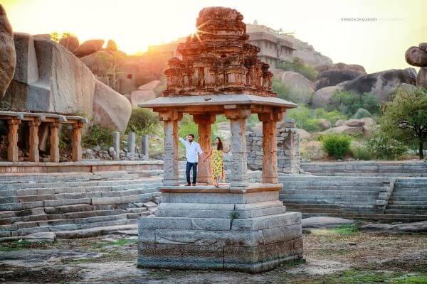 Photoshoot in hampi Karnataka