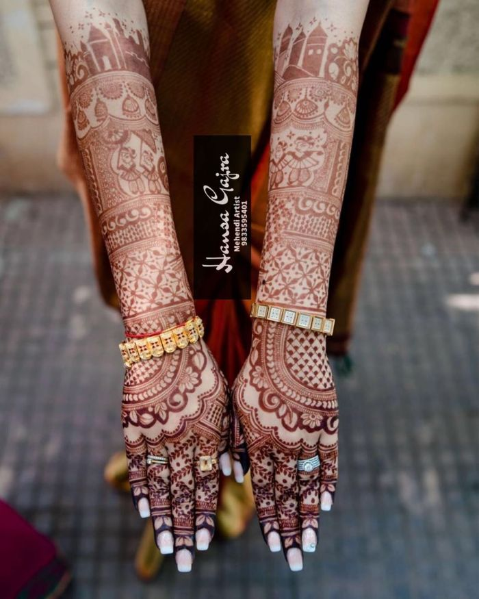 Beautiful city based modern bridal mehndi Beautiful city based modern bridal mehndi