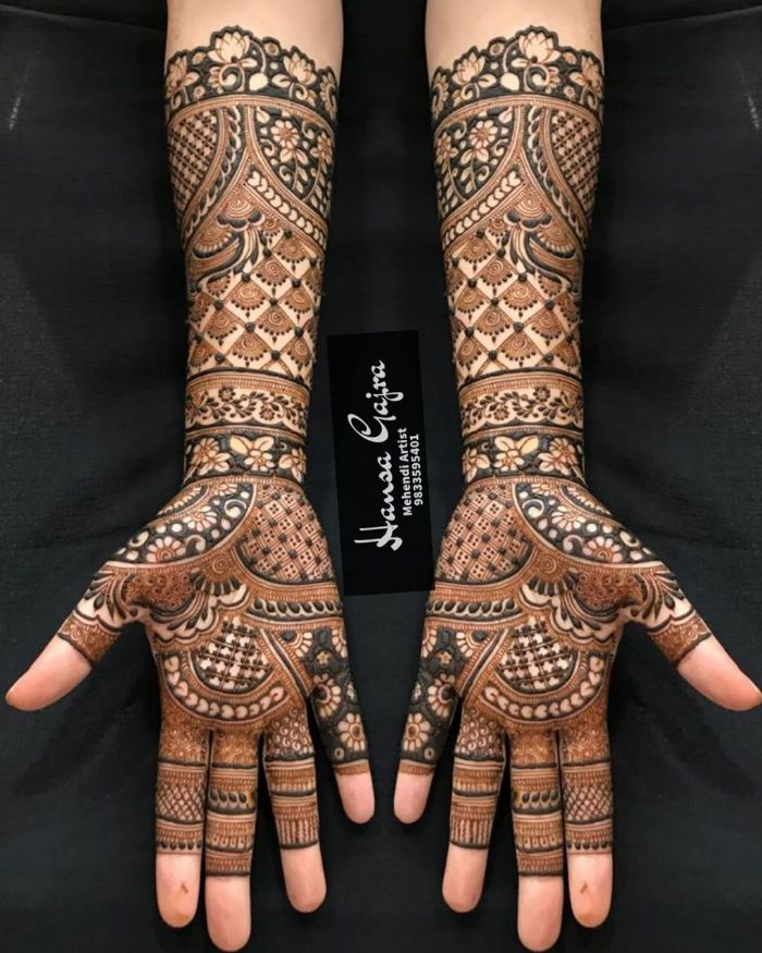 Fuller mehndi designs for bride Bridal Mehndi Designs for Full Hands
