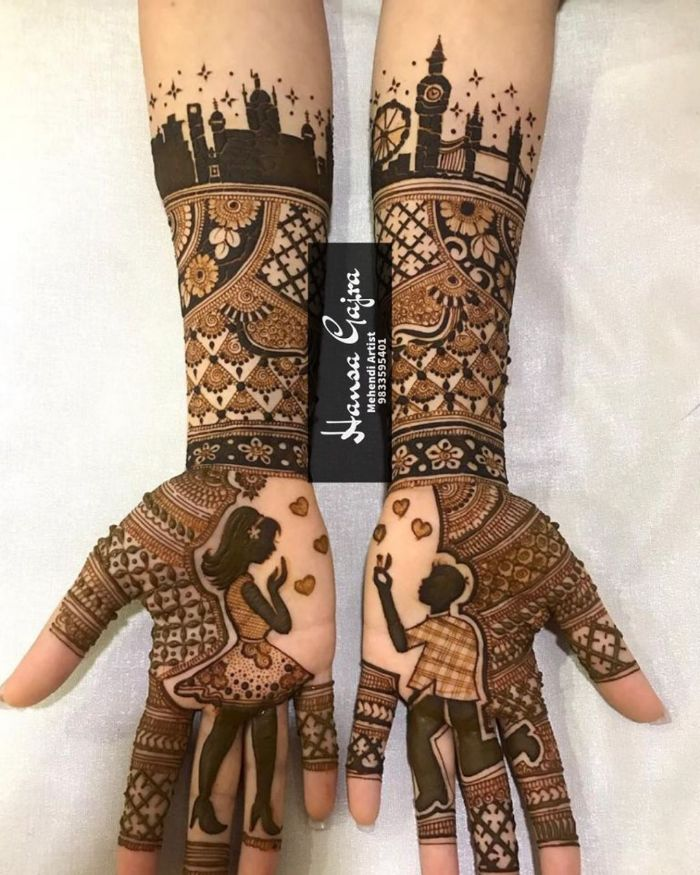 Modern bridal mehndi design Bridal Mehndi Designs for Full Hands