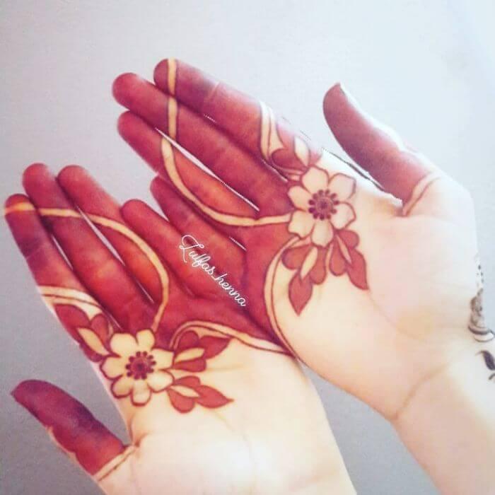 Unique designer floral mehndi design for hands Beautiful Floral Mehndi Designs for Hands