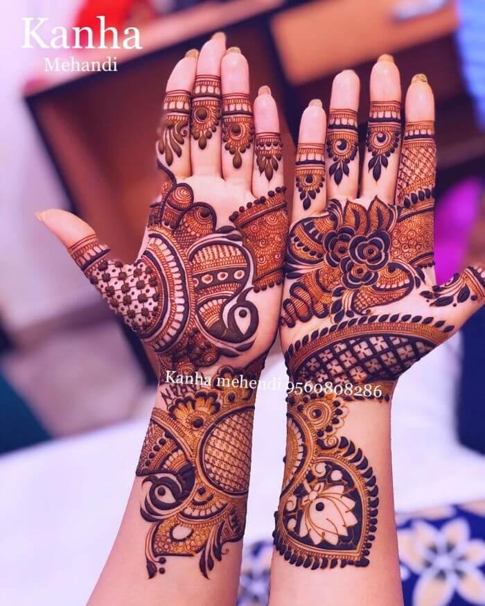 Unique mehndi design for teej festival - Kanha Mehandi Artist