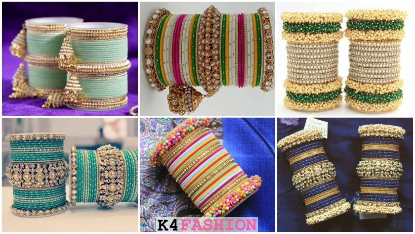 Multi Colored Bridal Bangles