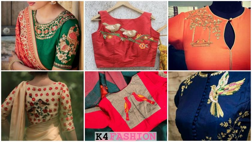 Latest & Trendy Blouse Designs
