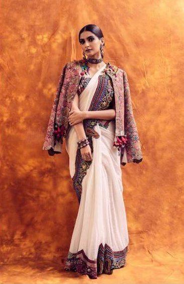 Sonam's imperial drape
