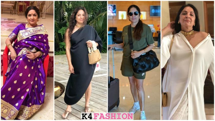 Neena Gupta's style at 60, indian dresses for 60 year old woman