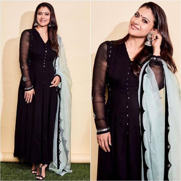 Chirpy Anjali with black shiny
