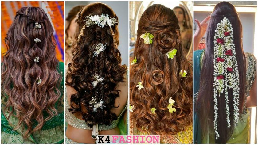Latest Hairstyles Perfect For Your Mehendi Ceremony