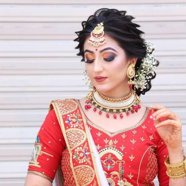 UniqueIndian Wedding makeup look Indian Wedding Makeup Looks for Brides & Bridesmaids
