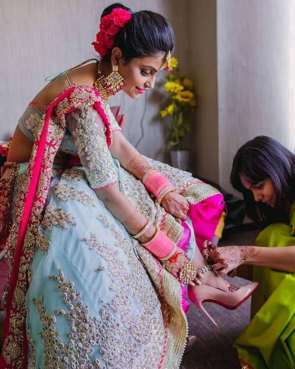 Fancy pink choodas for brides Latest Chooda Designs for Brides to Try in 2020