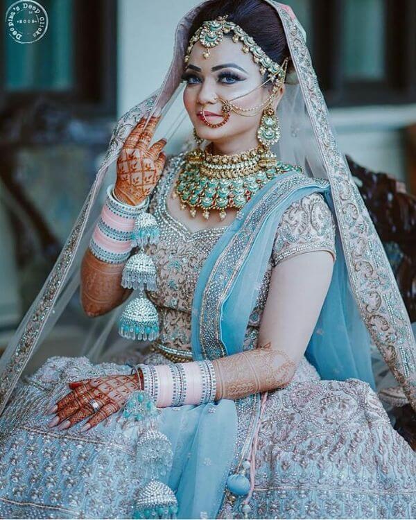 Blue and pink chooda Chooda Designs for Brides Latest Chooda Designs for Brides to Try in 2020