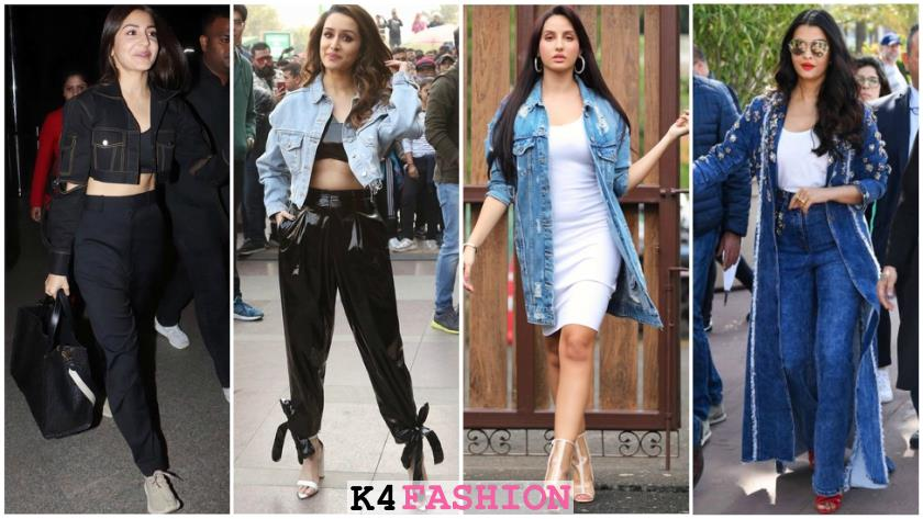 choose right denim jacket, Bollywood Stars Who Rocked In The Denim Jacket Look