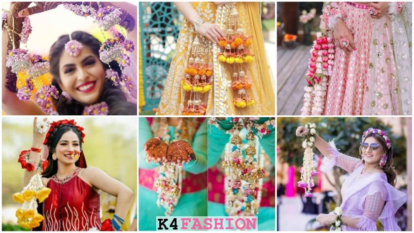 Latest Floral Kalire Designs for Wedding