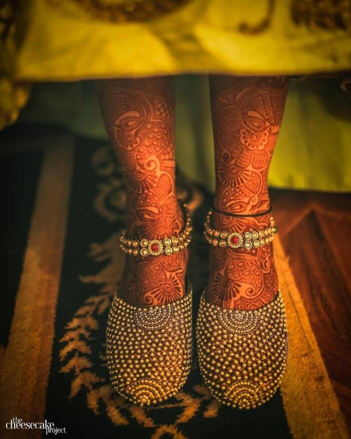 Kundankari Payal for traditional bride Latest Payal Designs for Brides - Trending Anklets for Wedding