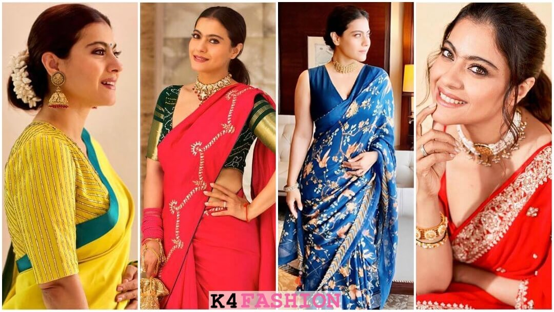 Stunning Sarees from Kajol's wardrobe are perfect for Wedding