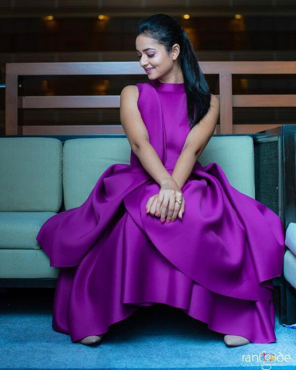 The elegant bright gown Shanvi Srivastava Bridesmaids Outfits | Trending This Year