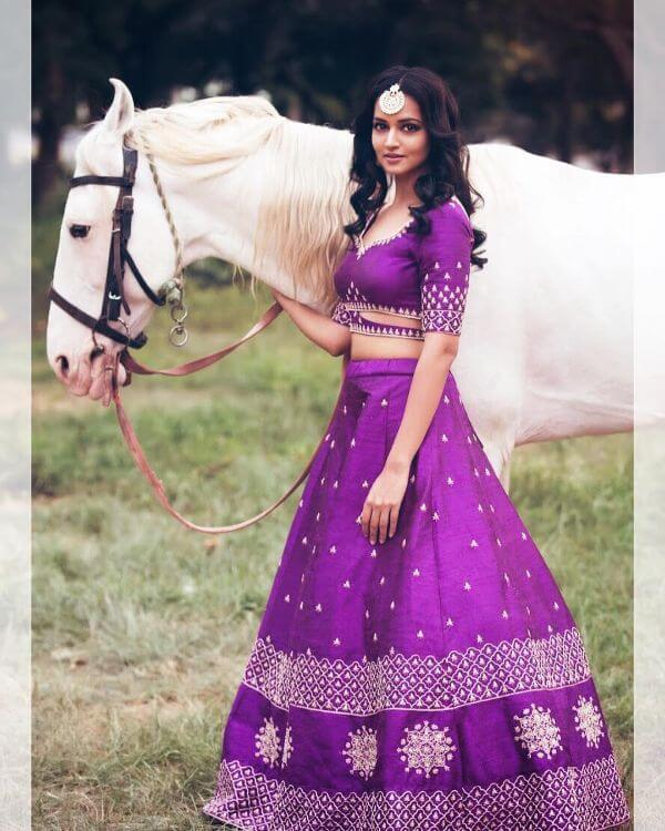 The bright, bold and beautiful bridesmaid outfit Shanvi Srivastava Bridesmaids Outfits | Trending This Year