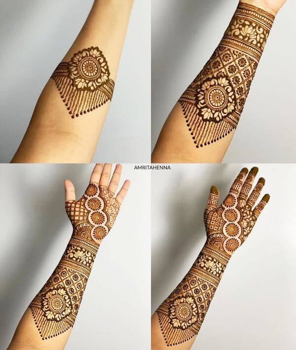 Mehndi Designs For Full Hand Step By Step Tutorials K4 Fashion,Egyptian All Seeing Eye Tattoo Designs