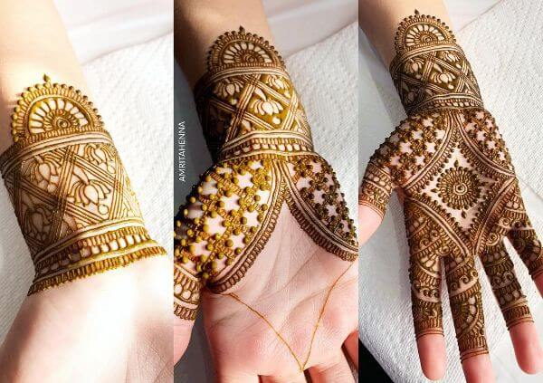 Unique mehndi design step by step Mehndi Designs for Full Hand : Step by Step Tutorials