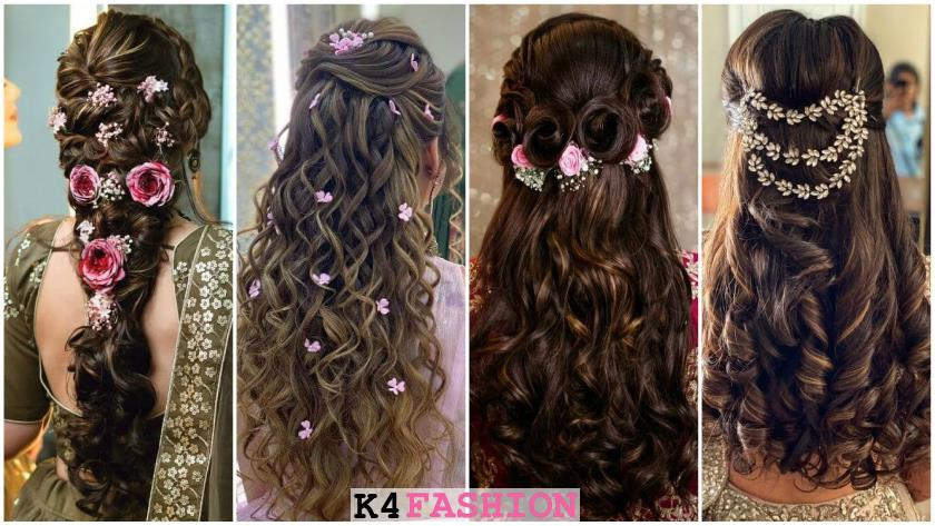 Bridal Hairstyles For Ladies Sangeet Function At Your Wedding!