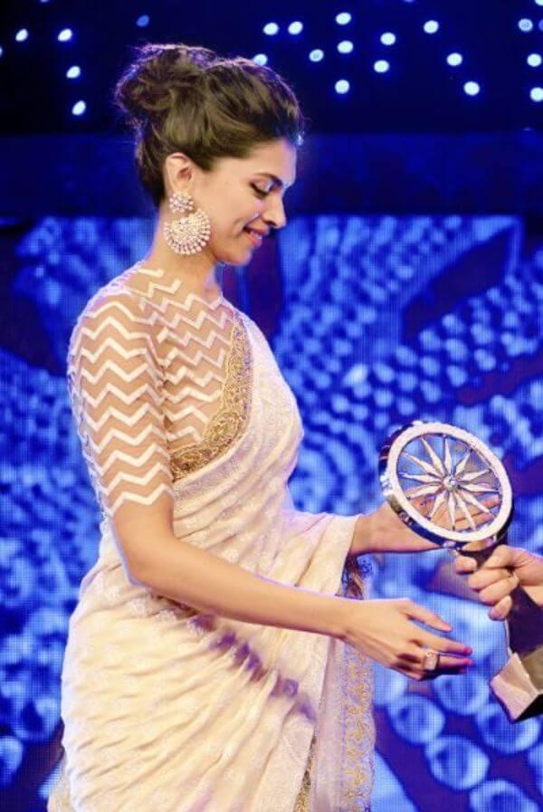 Deepika in Long sleeved blousefor bridesmaid