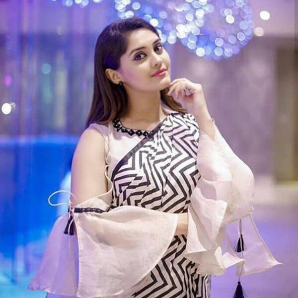 Stylish zebra designed blouse with deep cold shoulder sleeves Trendy Blouse Sleeves Designs for Modern Look