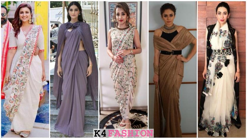How to Wear Saree - Saree Draping Styles for Glamorous Look