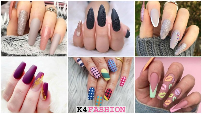 Cool Matte Nail Designs That Fit Every Woman's Taste