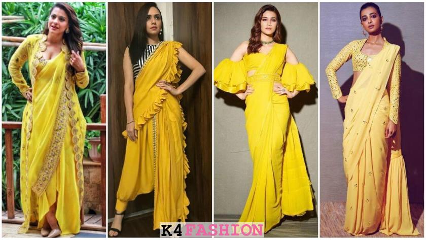 Unique Haldi Outfit Ideas for the Bride