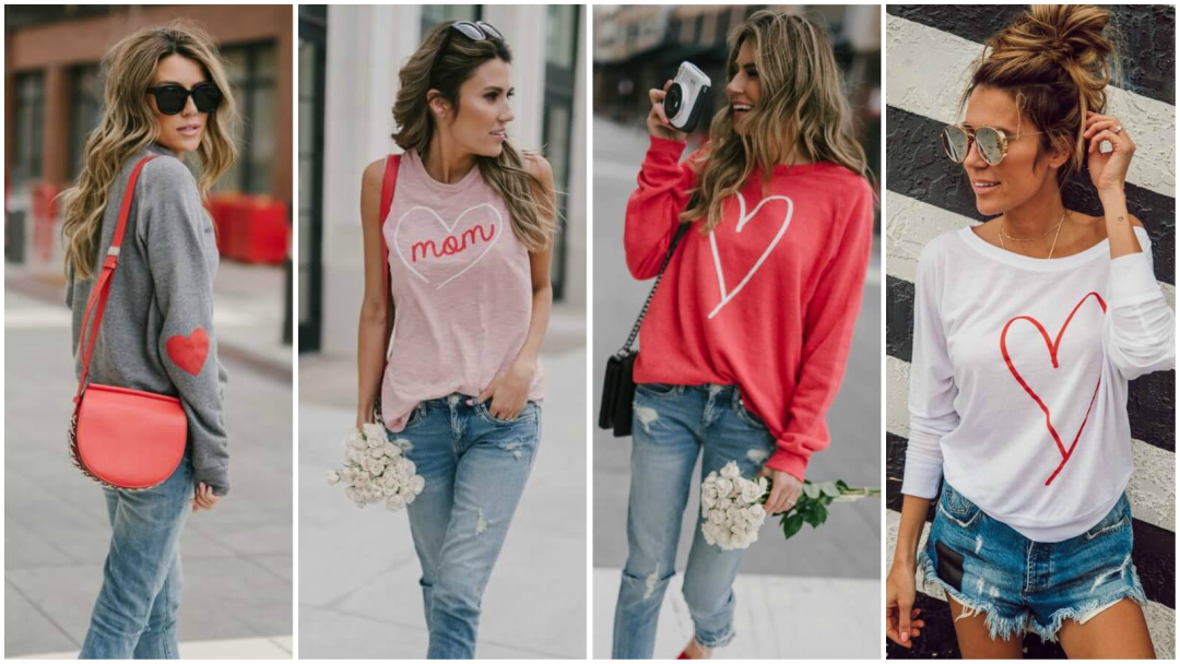 Valentine's Day Casual Dress Ideas for Complete Look