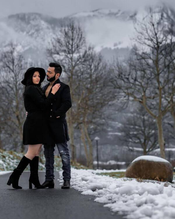 Pre-wedding shoot of filmyvibes photoshoot Winter Pre-Wedding Photoshoot Ideas with Beautiful Locations