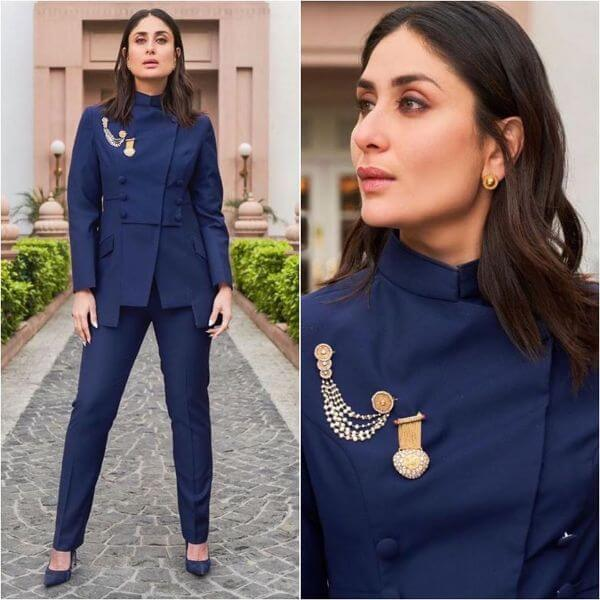 Bebo's Nawabi look Winter Outfit Ideas Inspired by Bollywood Divas