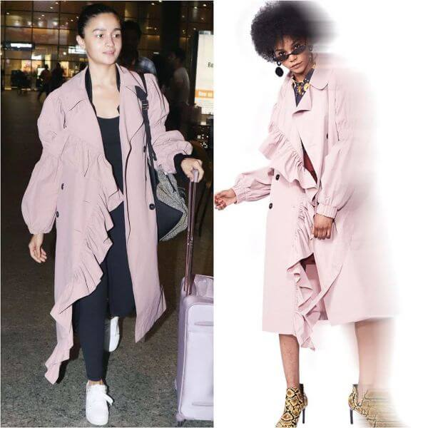 Alia Bhatt opts for a trench coat Winter Outfit Ideas Inspired by Bollywood Divas