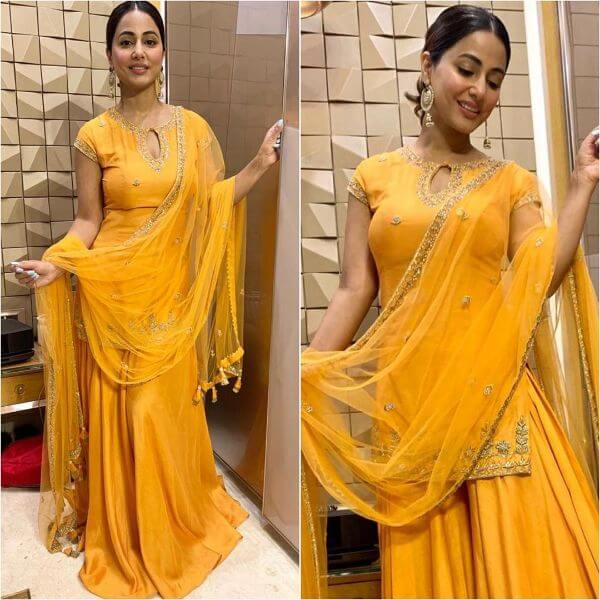 Designer Yellow Sharara Suit Yellow Sharara Suits to Make Your Haldi Ceremony Special