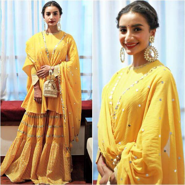 Yellow Sharara Suit for Haldi Ceremony as a guest Yellow Sharara Suits to Make Your Haldi Ceremony Special