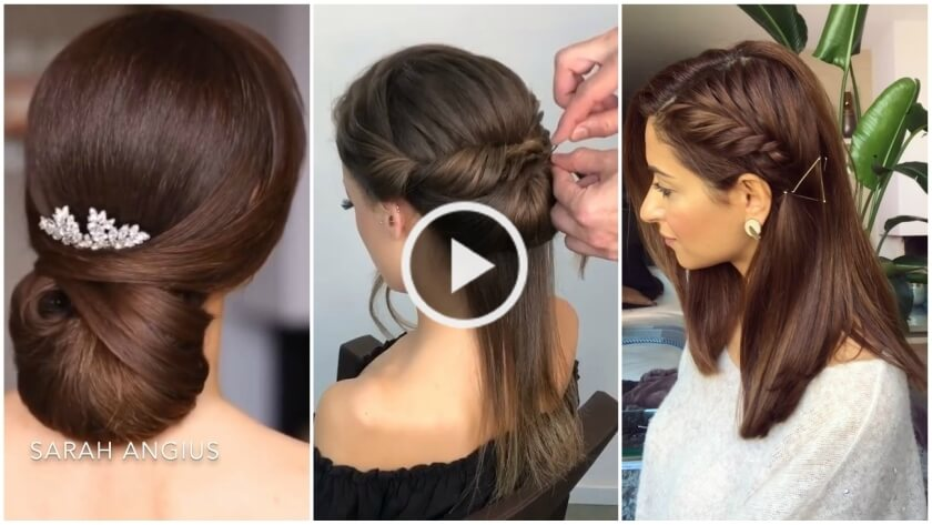 Most Beautiful Hairstyle for Wedding or party