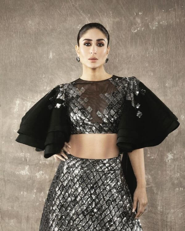 Frilled in Layered Pattern