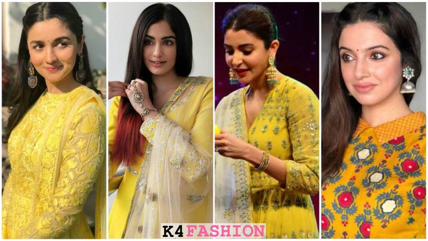 Haldi Dresses for Brides and Bridesmaids to Rule the World This Wedding Season