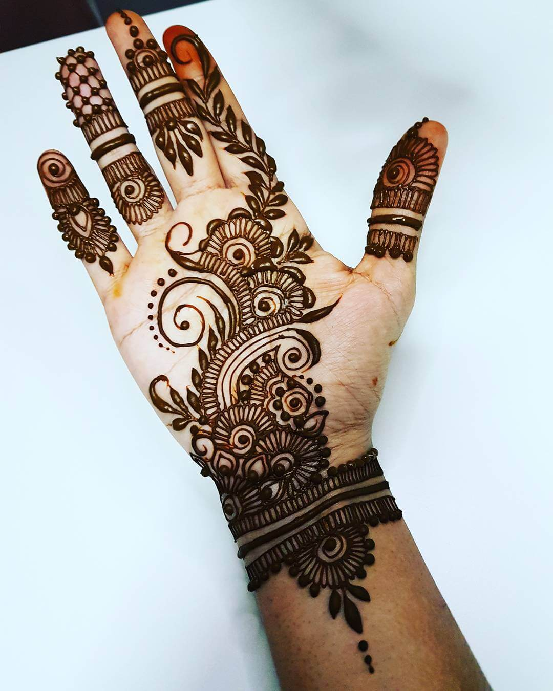Wrist band arabic mehndi design Arabic mehndi designs for Palm
