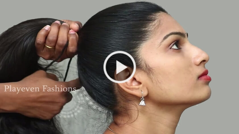 Hair Buns For Your Wedding Functions