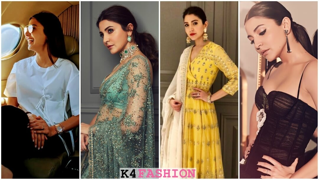 Looks Straight From Anushka Sharma's Wardrobe For Your Outfit Inspo