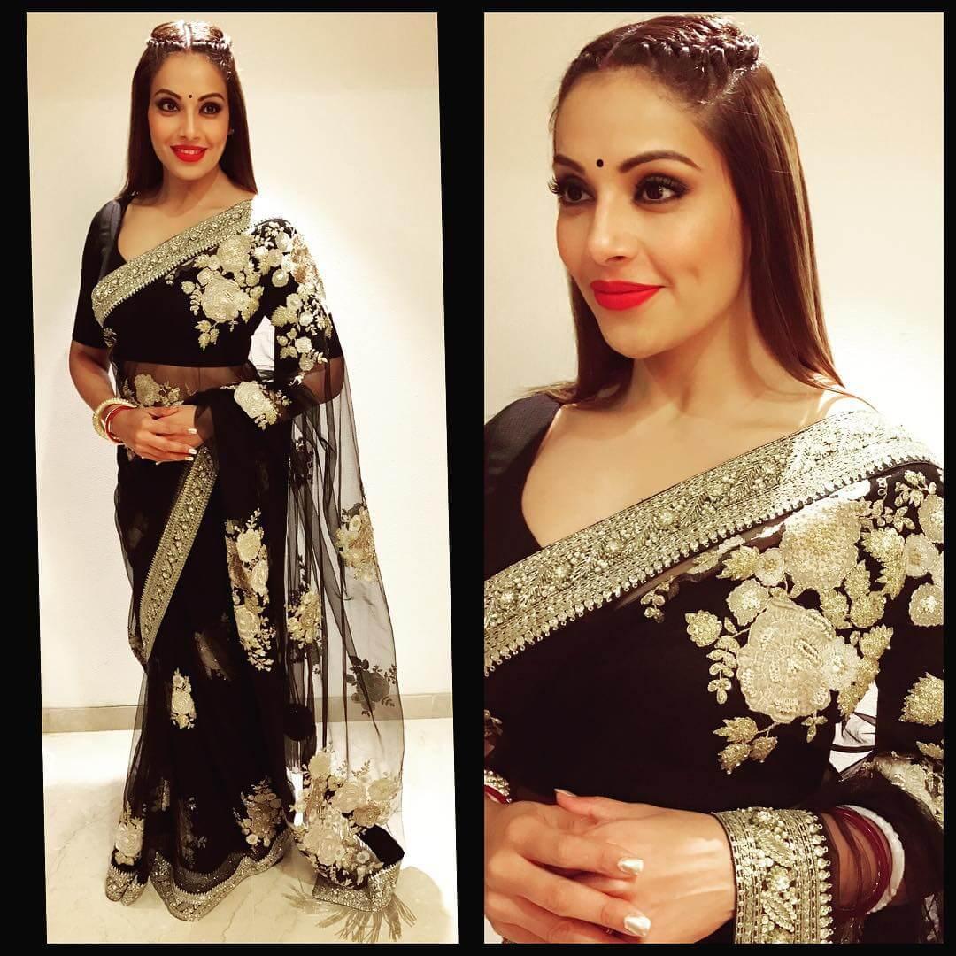 Black beautiful saree : Sabyasachi collection