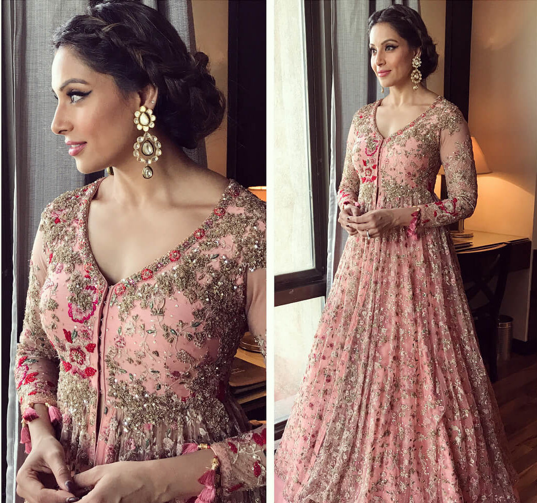 Heavy embellished Indian Gown