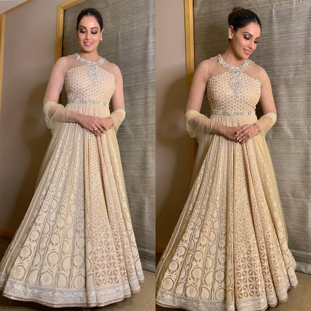 Dreamy gown Indian Bridesmaid Dresses | Celebrity Wedding Dress Inspirations