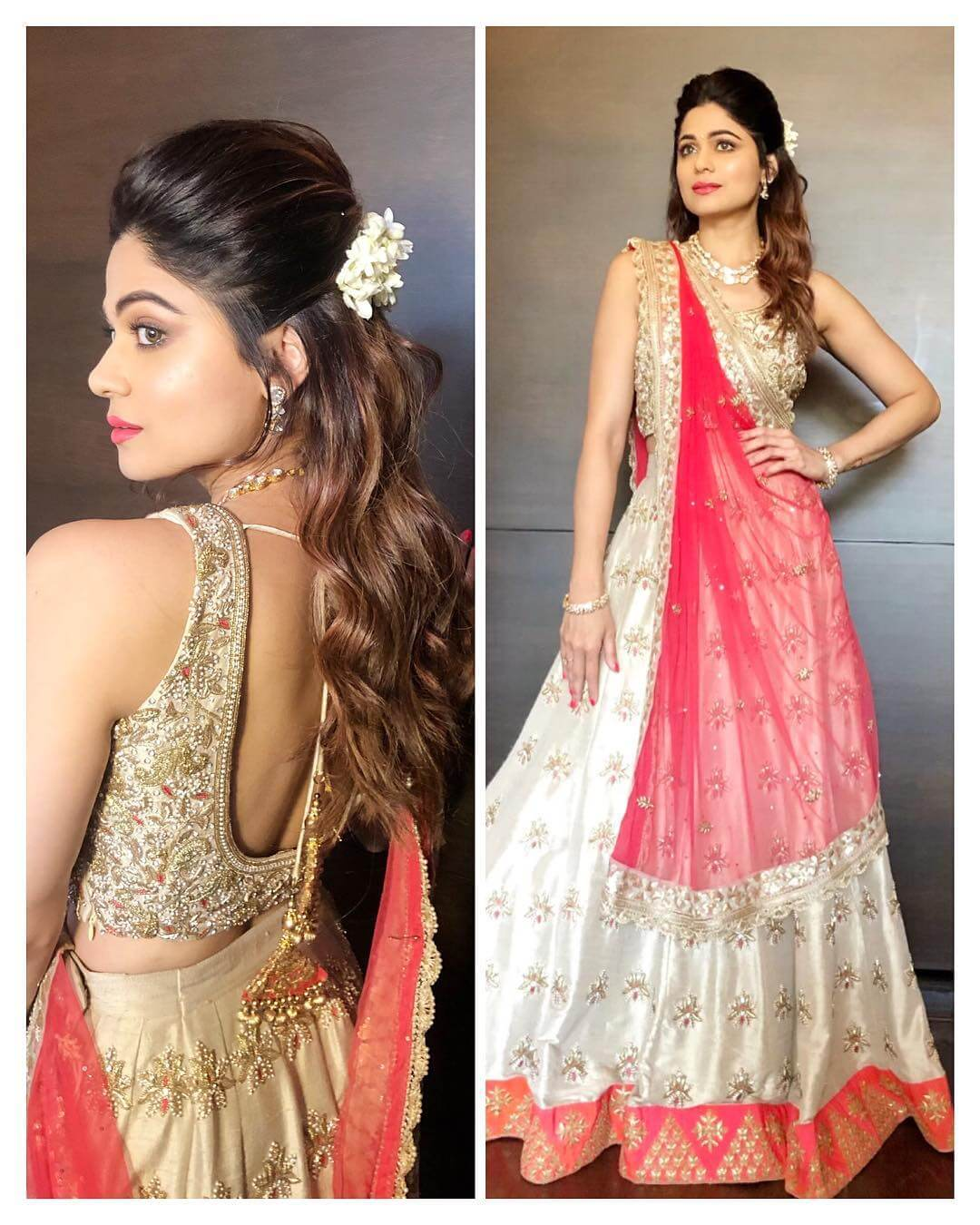 Sangeet outfit Indian Bridesmaid Dresses | Celebrity Wedding Dress Inspirations