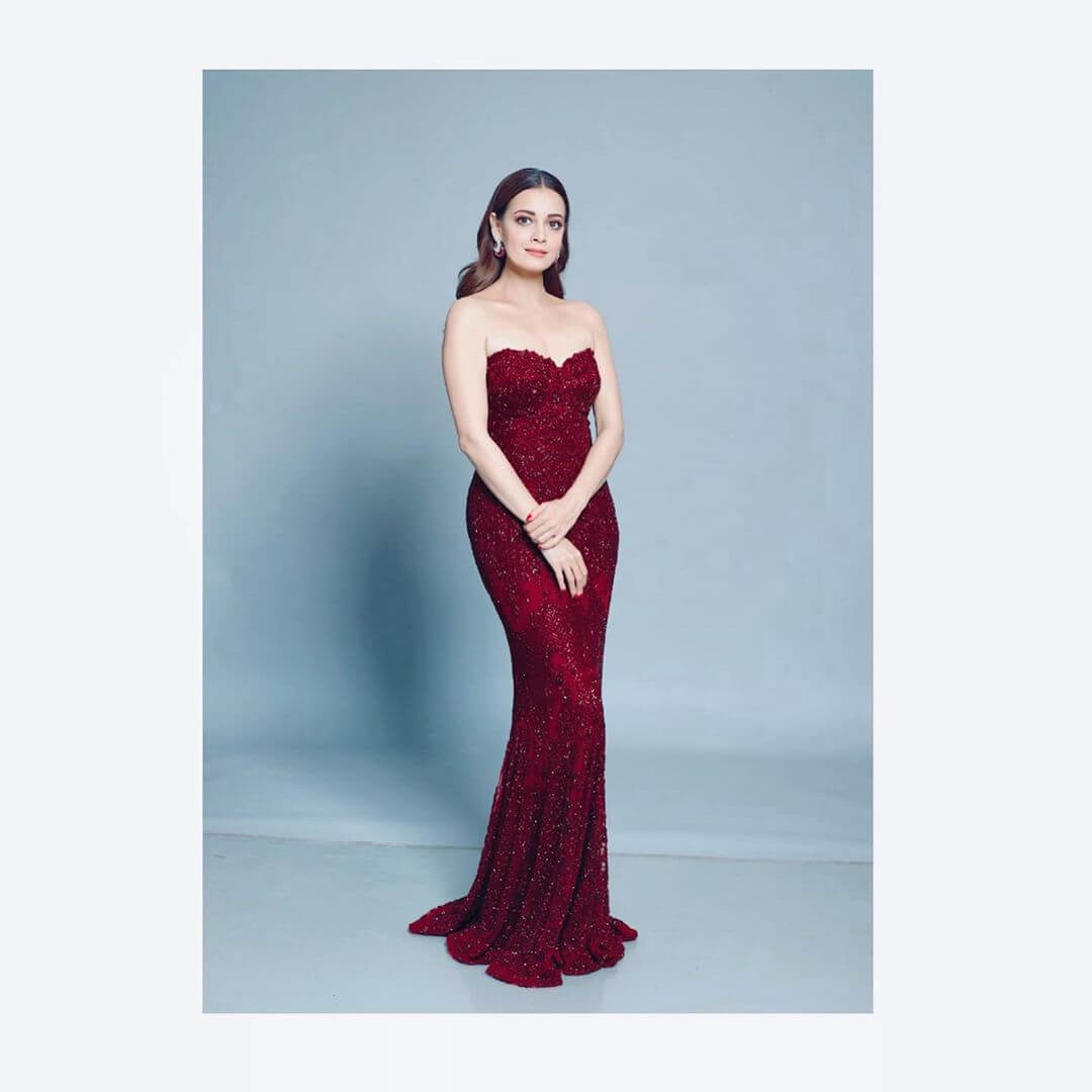 Strapless Gown Dia Mirza outfits