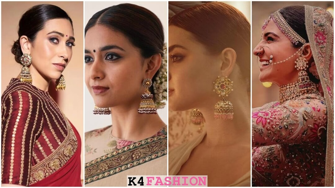 Gold jhumkas from Sabyasachi Jewellery Collection