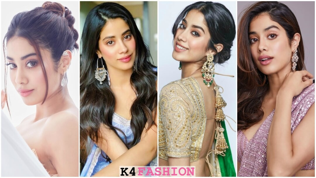 Earrings style inspiration from Janhvi Kapoor